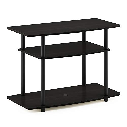 FURINNO TurnNTube 3Tier TV Stand Espresso/Black