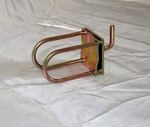 LOBO Gold – kein Werkzeug erforderlich – Alternative zum Gerüst – verstellbare modulare Zugangsplattform-System, Rohrklemme, 10 Stück
