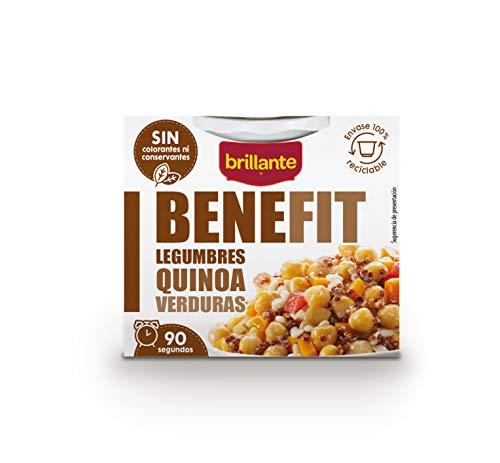 Brillante benefit (Legumbres, Quinoa, Verduras) 250g