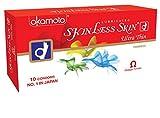 Okamoto - Preservativos para la piel sin piel, ultra delgados, Japón 1 X 10S