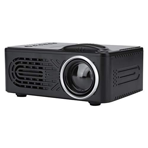 Redxiao 【𝐅𝐫𝐮𝐡𝐥𝐢𝐧𝐠 𝐕𝐞𝐫𝐤𝐚𝐮𝐟 𝐆𝐞𝐬𝐜𝐡𝐞𝐧𝐤】 LED Beamer, 1080P LED(Black, European regulations)