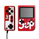 With an additional gamepad, two people can play against the game on the same console, which will greatly increase the fun of the game. Pocket Sized -3-inch color screen, the surface is made of leather print, Easy to hold and carry anywhere. Fits perf...