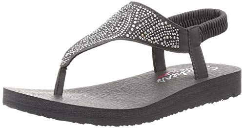 Skechers Cali Meditation New Moon Sandalen Women Grau, Schuhgröße:40 EU