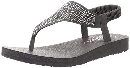 Skechers Cali Meditation New Moon Sandalen Women Grau, Schuhgröße:37 EU