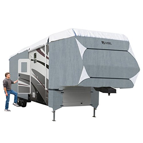 Classic Accessories OverDrive PolyPro 3 Deluxe Cover for 37' to 41' Extra Tall 5th Wheel...