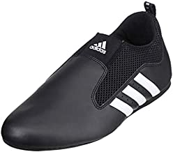 adidas Contestant Pro Ultralight Martial Arts Kung Fu Taekwondo Indoor Mat Training Shoes - Black - Size 11 (290mm)