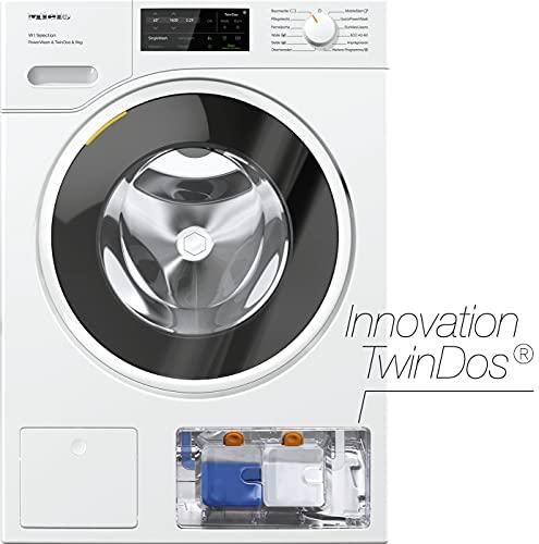 Miele WSI 863 WCS Frontlader Waschmaschine / 9 kg / automatische Dosierung - TwinDos / saubere Wäsche in 49 min - QuickPowerWash / Vernetzung / AllergoWash / 1600 U/min [Energieklasse A]