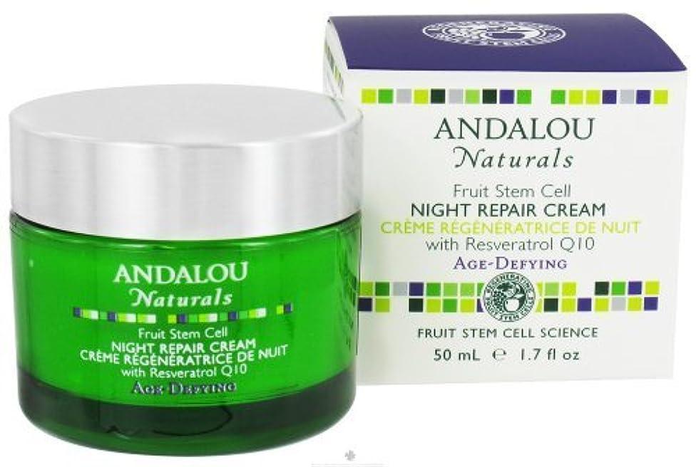 Andalou Naturals Night Crm Repair Resvrtrl Q1
