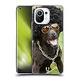Head Case Designs Perro En Traje Divertido Animales Divertidos Carcasa de Gel de Silicona Compatible con Xiaomi Mi 11