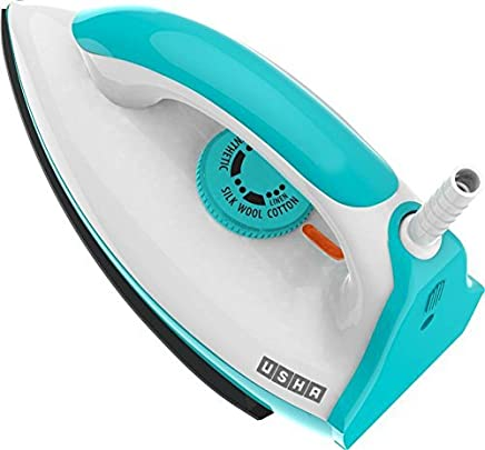 Usha EI 3602 1000-Watt Lightweight Dry Iron (ICY Blue)