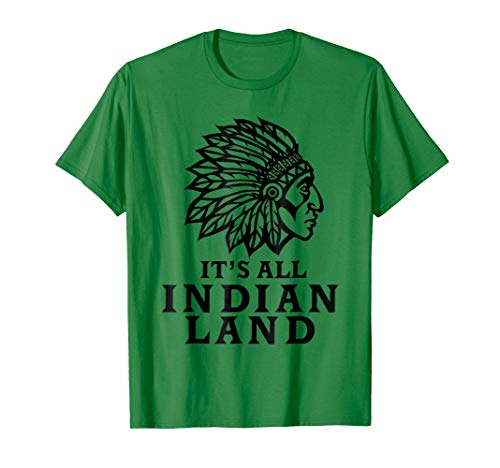 Native American Indian Land T-Shirt Men Women And Kids Style