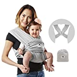 Baby K'tan Original Baby Wrap Carrier, Infant and Child Sling - Simple Pre-Wrapped Holder for...