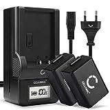 CELLONIC® 2X Batería de Repuesto DMW-BMB9E per Panasonic L