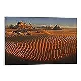 CHUNJIAN Landschaftsposter, The Sahara, Poster, Geschenke,