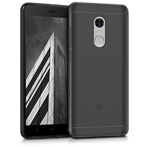 kwmobile Funda Compatible con Xiaomi Redmi Note 4 / Note 4X - Carcasa de TPU para móvil - Cover Trasero en Negro