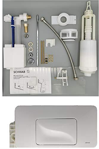 SCHWAB Umbausatz Start/Stopp für Mod. 81.000 + 80.000, Art.-Nr. 385768 incl. Betätigungsplatte GALA