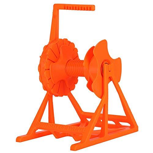 Bewinner1 Griglia per Materiali di consumo per Prusa i3, Durevole Parti della Stampante 3D Accessorio ABS PLA per Stampa 3D 7,9 x 7,1 x 4,8 Pollici Arancione