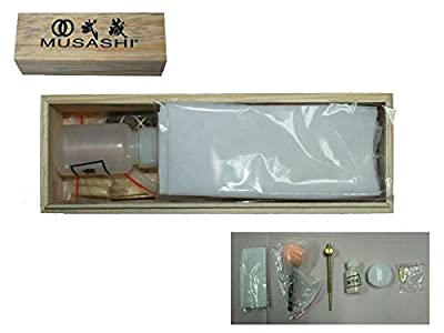 Musashi Japanese Samurai Katana Sword Maintenance Care Cleaning Kit