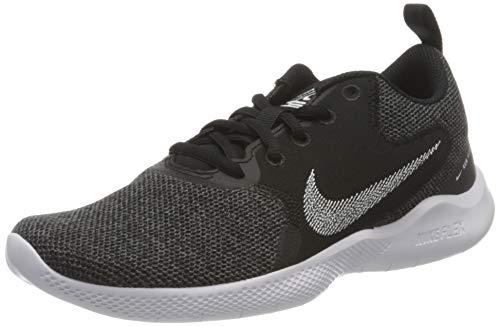 Nike Damen Flex Experience Run 10 Running Shoe, Black/White-Dark Smoke Grey-Iron Grey, 39 EU