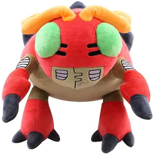 Makfacp Juguete de Peluche de Felpa Wilder Digital Wilder Ninja 33 cm, el Personaje de Dibujos Animados de Ladybug está Lleno de Juguetes de Animales
