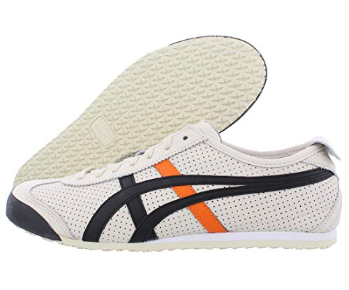 Onitsuka Tiger - Unisex-Adult Mexico 66 Sneaker, 43.5 EU, Birch/Black