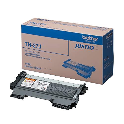 『ブラザー工業 【brother純正】トナーカートリッジ TN-27J 対応型番:MFC-7460DN、DCP-7065DN、DCP-7060D、FAX-2840、HL-2270DW、HL-2240D 他』の1枚目の画像