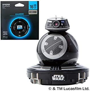 スター・ウォーズ エピソード8 BB-9E (TM) App-Enabled Droid (TM) with Trainer  microSDHC 16GB CLASS10 UHS-1 SD変換アダプタ無