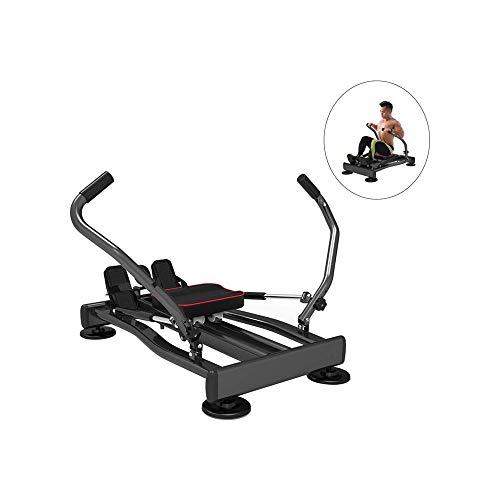LKNJLL Stamina Corpo Glider, Vogatore, Multi-Function Intero-Sport Snellente Fitness Equipment, Regolabile Resistenza idraulica Cardio Workout Compact Folding Vogatore