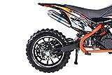 Actionbikes Gepard 49 cc Pocket Bike – Benzin (Orange) - 8