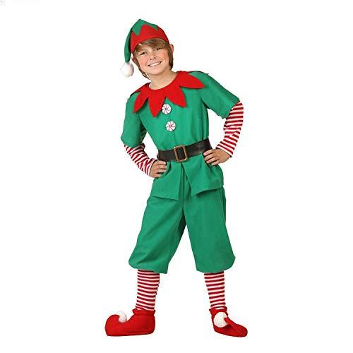 Disfraz de Duende de Navidad para Hombres, Mujeres y nios Navidad, Carnaval y Cosplay (160cm, Hombres)