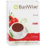 BariWise High Protein Low-Carb Diet Soup Mix - Low Calorie, Fat Free Tomato (7 Count)