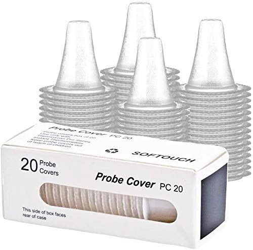 Braun Replacement Probe Covers for Ear Thermometers (Pack of 20)