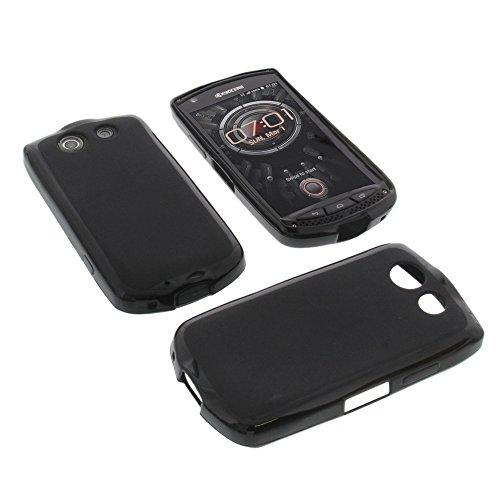 foto-kontor Tasche für Kyocera KC-S701 Torque Gummi TPU Schutz Handytasche schwarz