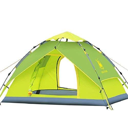 RYP Guo Outdoor Products 3-4 Personnes, tentes automatiques, tentes de Camping en Plein air, Doubles imperméables, tentes légères,3-4 Personne,B
