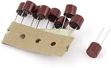 DealMux 10 Pcs Circuit Cutoff TF Fusible t/érmico de aluminio 110 grados Celsius 250V 10A