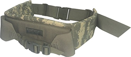 Fire Force A.L.I.C.E. Pack Kidney Pad with waist strap and frame attaching belt LC-2 Kidney Pad Made in USA (ACU Camo)