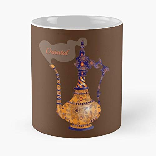 worldbrand Orange Maroc Oriental Orient Smoke Mint Tea Pot Best 11 oz Kaffeebecher - Nespresso Tassen Kaffee Motive