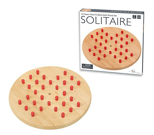 Wooden Solitaire Game -  Intex Entertainment, 1259