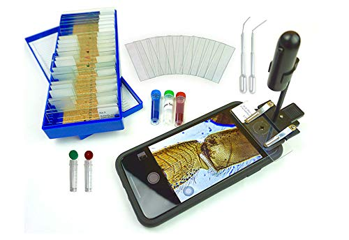 World's Most Powerful Clip-On Microscope Kit