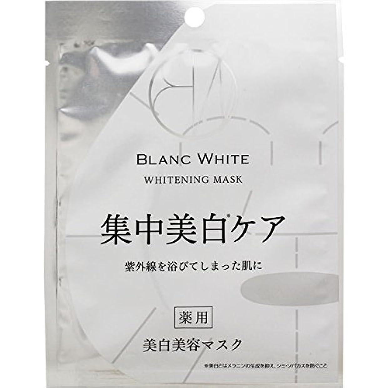 調和のとれた亜熱帯ビタミンブランホワイト ホワイトニングマスク 1枚【21ml】 (医薬部外品)