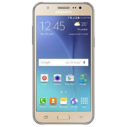 Samsung Galaxy J7 J700M, 16GB, Dual SIM LTE, Factory Unlocked - Gold (International Version)