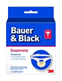 3M Bauer and Black 0-16 Suspensory, Extra Large, White/Beige
