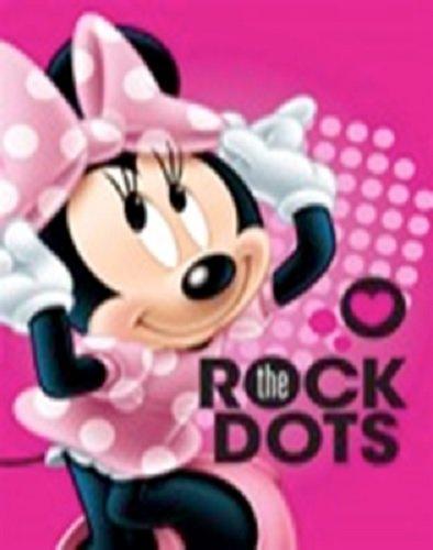 licence Disney Princess Minnie Mouse Rockin My Pois Clubhouse doux en peluche Couvre-lit Motif couverture Taille pour bébé