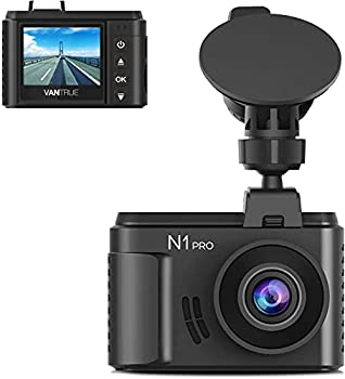Vantrue N1 Pro Mini Dash Cam Full HD 1920x1080P Car Dash Camera 1.5 inch 160 Degree DashCam with Sony Night Vision Sensor 24 Hours Parking Mode Motion Sensor Collision Detection Support 256GB Max