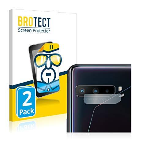 BROTECT Schutzfolie kompatibel mit Asus ROG Phone 3 ZS661KS (nur Kamera) (2 Stück) klare Bildschirmschutz-Folie