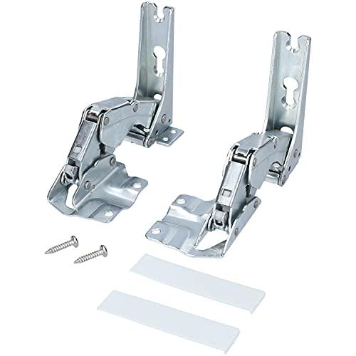 Türscharnier Scharnier Einbau Kühlschrank Beschlag für Bosch Siemens Miele AEG Neff Gaggenau 00481147 481147
