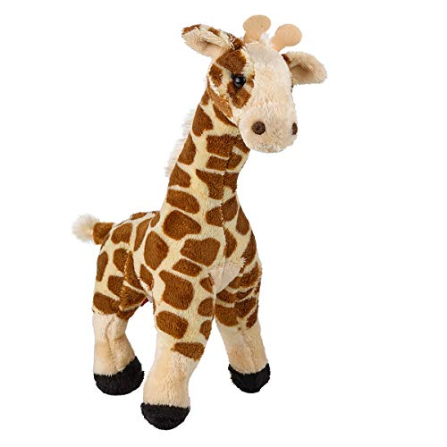 Kicko Soft Plush Giraffe - 11 Inch Stuffed Jungle Animal Toy and Pillow for Bedtime Pal, Playroom Decoration, Children Educational Playset