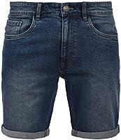 Blend Joel Pantaloncini di Jeans Shorts Bermuda da Uomo Elasticizzato