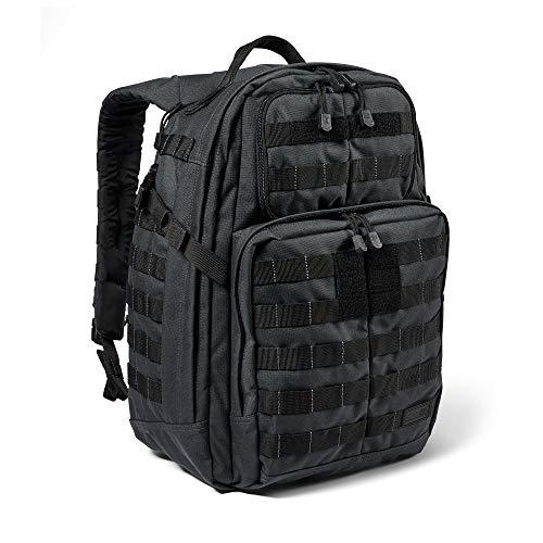 5.11 Mochila Táctica Rush 24 2.0 – Mochila Militar Molle, CCW Portación Oculta y Compartimento para Ordenador Portátil, 37 litros, Mediana, Estilo 56563 – Color Double Tap
