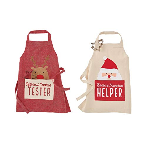 Mud Pie Christmas Aprons (Reindeer)